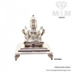 Gentle Silver Lord Lakshmi...
