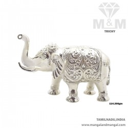 Impossibly Silver Elephant...