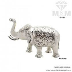 Incredible Silver Elephant...