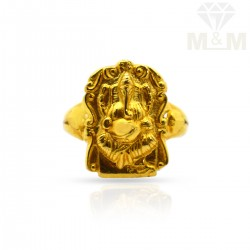 Splendid Gold Casting Ring