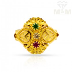 Brilliantly Gold Fancy Ring