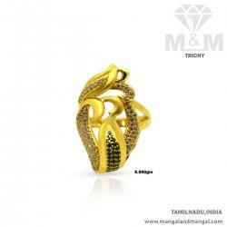 Fine Gold Women Fancy Stone...