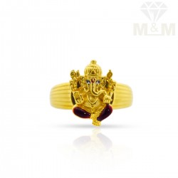 Superbly Gold Casting Ring
