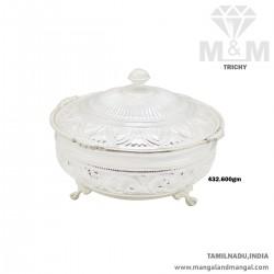 Interesting Silver Fancy Dish