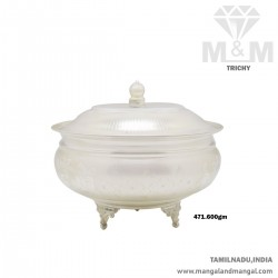 Maginificent Silver Fancy Dish