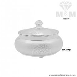 Marvelously Silver Fancy Dish