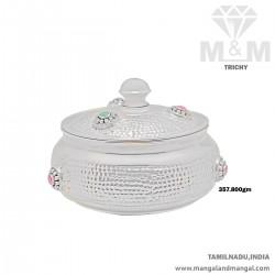 Marvels One Silver Fancy Dish