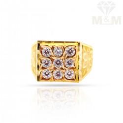 Bright Gold Fancy Ring