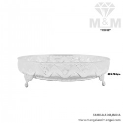 Popular Silver Thambulam Plate