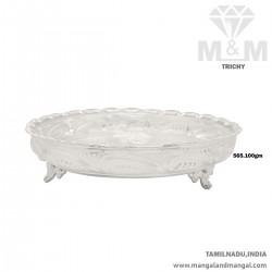 Favorite Silver Thambulam Plate