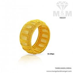 Majestic Gold Broad Bangle