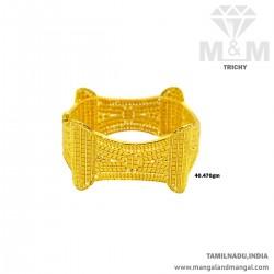 Favorite Gold Broad Bangle