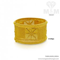 Favorite Gold Broad Bangle