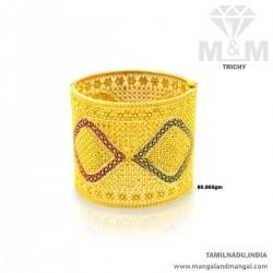 Tradition Gold Broad Bangle