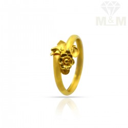 Festivity Gold Fancy Ring