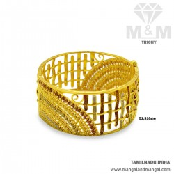 Niceness Gold Broad Bangle