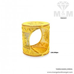 Fabulous Gold Broad Bangle
