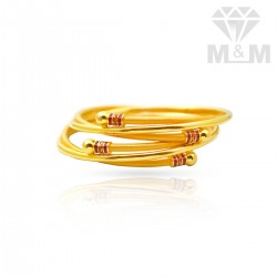 Impressive Gold Fancy Bangles