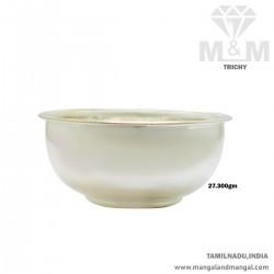Amazing Silver Fancy Bowl