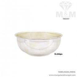 Beautiful Silver Fancy Bowl