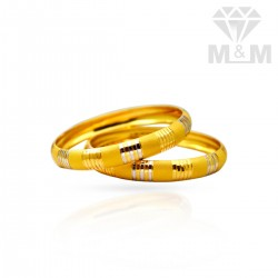 Renowned Gold Fancy Bangles