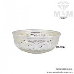 Marvelous Silver Fancy Bowl