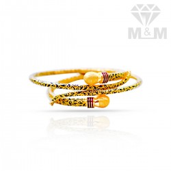 Preeminent Gold Fancy Bangles