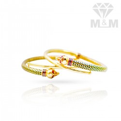 Delectable Gold Fancy Bangles