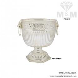 Celebrated Silver Fancy Bowl