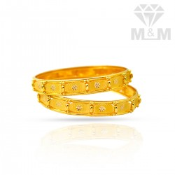 Impeccable Gold Fancy Bangles