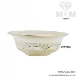 Prolific Silver Fancy Bowl