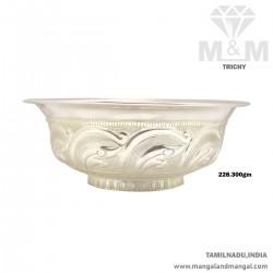 Venerable Silver Fancy Bowl