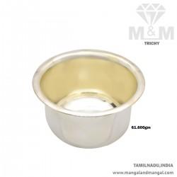 Treasured Silver Fancy Bowl