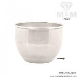 Sculpture Silver Fancy Bowl