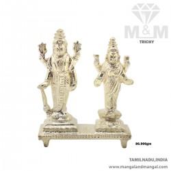 Amazing Silver Lord Vishnu...