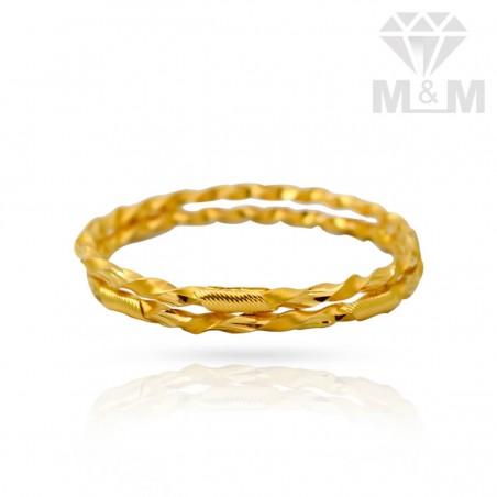 Stupendous Gold Fancy Bangles