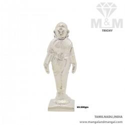 Humble Silver Female Figure...