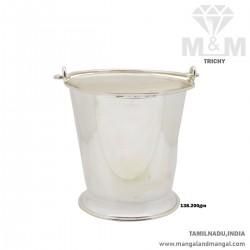 Strange Silver Fancy Bucket...