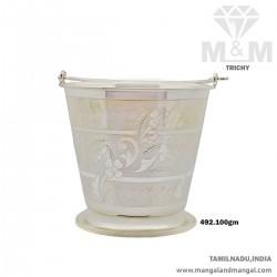 Stylish Silver Fancy Bucket...