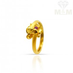 Bright Gold Fancy Ring