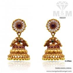Beautiful Gold Antique Earring
