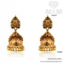 Canny Gold Antique Earring