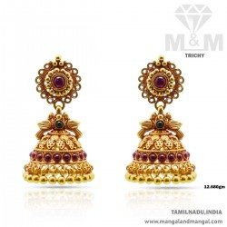 Charming Gold Antique Earring