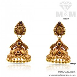 Dreamy Gold Antique Earring