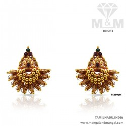 Embellish Gold Antique Earring