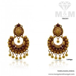 Ravish Gold Antique Earring