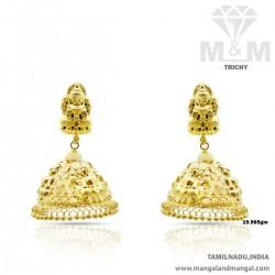 Sensational Gold Nagas Earring
