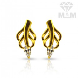 Attractive Gold Casting Stud