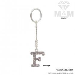 Gorgeous Silver Key Chain