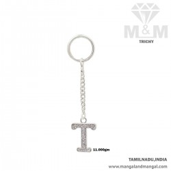 Maginificent Silver Key Chain